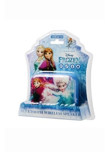 Volkano Disney Frozen Karlar Ülkesi Bluetooth Kablosuz Wireless Hoparlör Anna Elsa Lisanslı DY-1010-FR Renkli